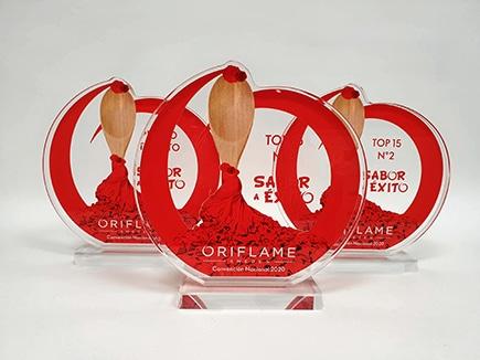 Trofeos con peana e impresión digital
