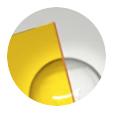Amarillo transparente