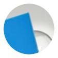 Azul claro opaco