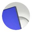 Azul marino satinado