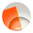 Naranja fluorescente