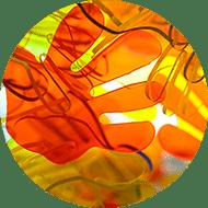 Planchas de metacrilato fluorescente