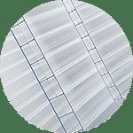 Planchas de policarbonato celular