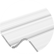 Planchas de policarbonato onduladas